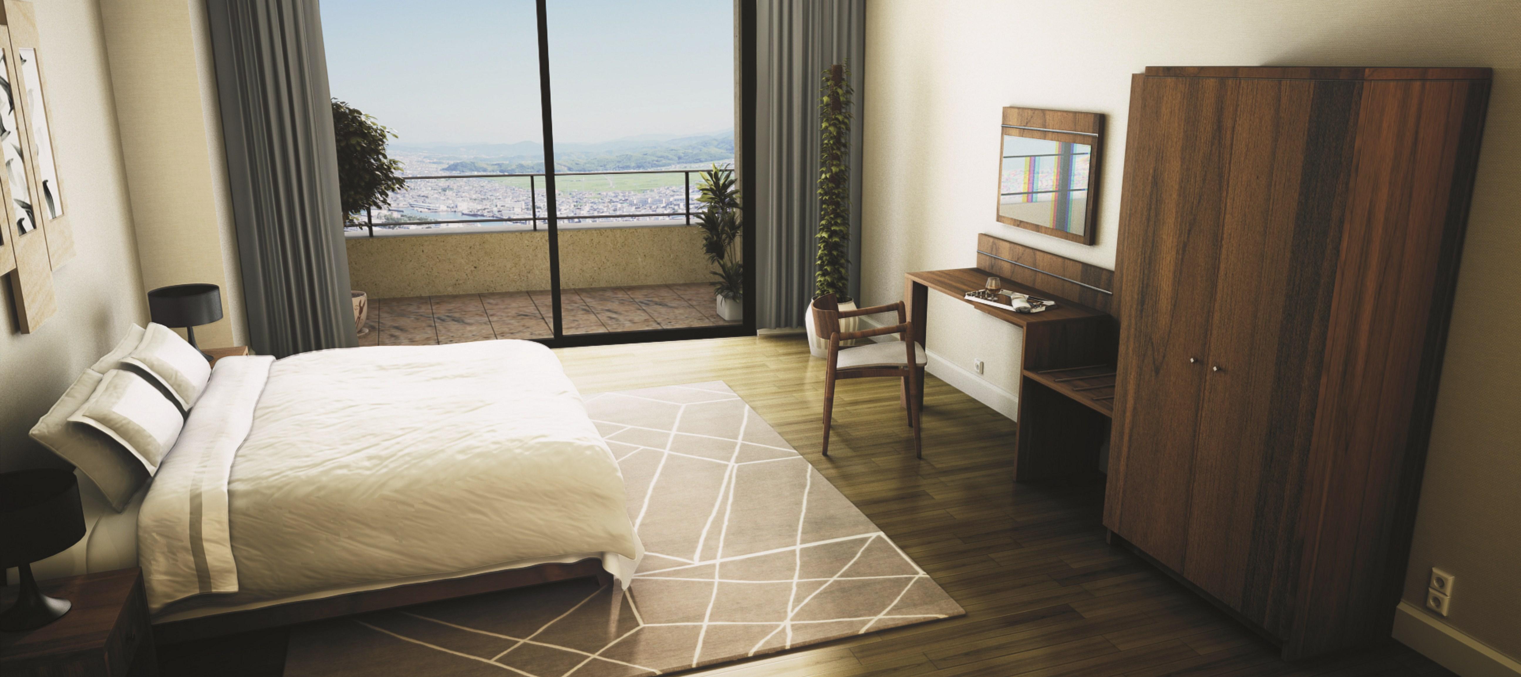 kolekcja mebli hotelowych Quadro